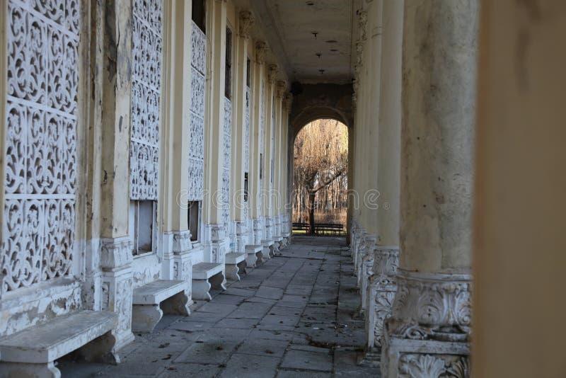 剧院的废墟 免版税库存图片