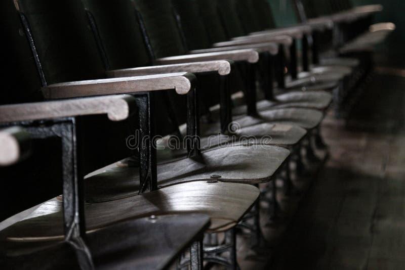 剧院银行古董 库存照片