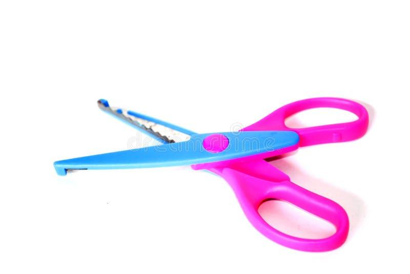 剪刀是手动的切口仪器 剪刀是用途 免版税库存照片