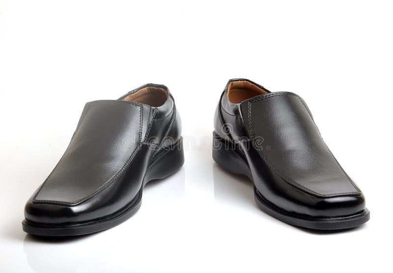 剪切鞋子 免版税库存照片
