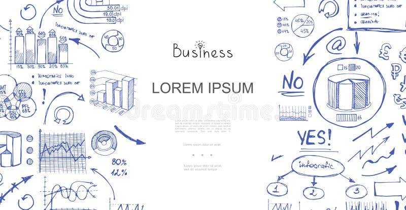 剪影企业逻辑分析方法构成 皇族释放例证