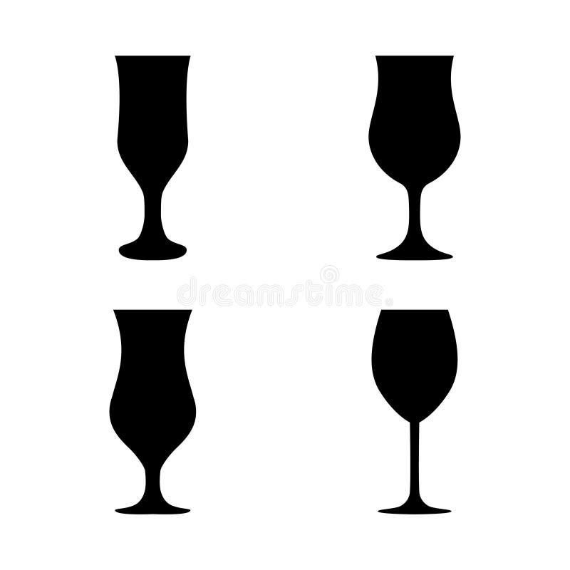 Download 剪影玻璃汇集的传染媒介例证 向量例证. 插画 包括有 收集, 咖啡, 饮料, 马蒂尼鸡尾酒, 交谊厅, 黄铜 - 72367722