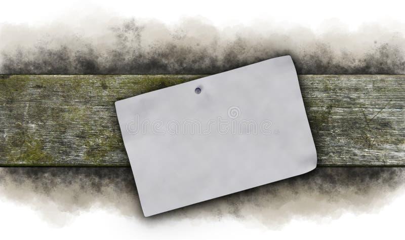 剪报便条纸路径影子粘性黄色 库存照片