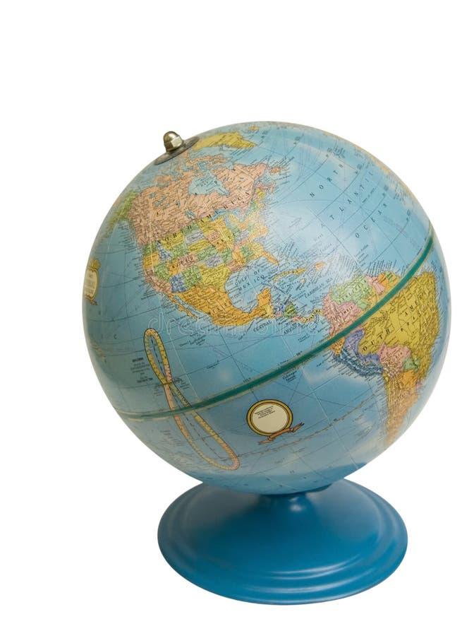 剪报地球老路径 免版税库存照片