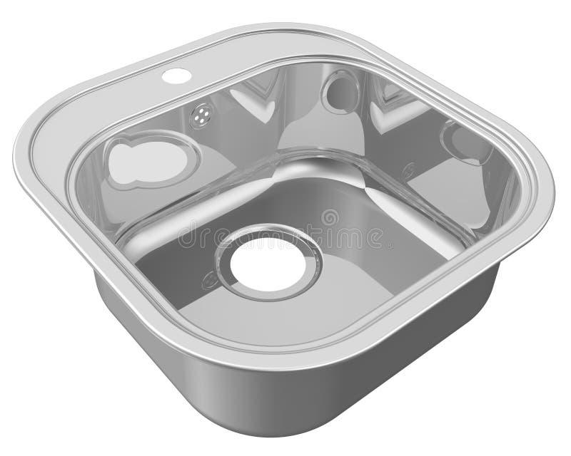 剪报文件包括厨房路径水槽 向量例证