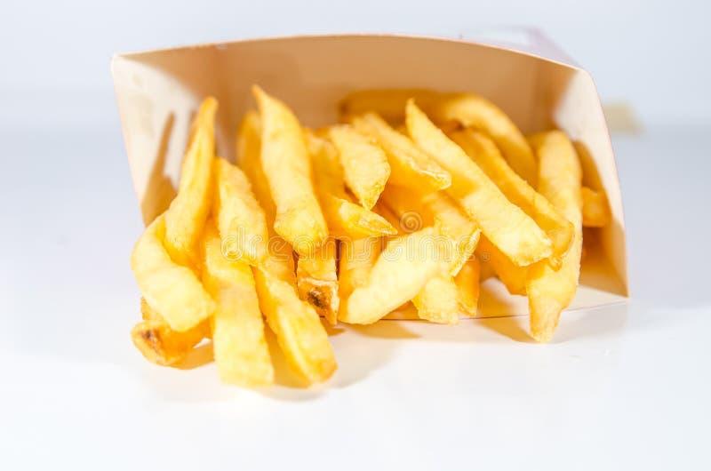 剪报炸薯条图象查出的路径 库存图片