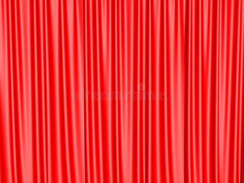 剪报窗帘包括路径剧院 库存图片