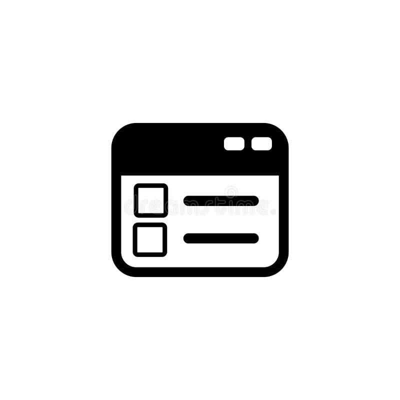 剪贴板传染媒介象 为图表和网络设计隔绝的例证 皇族释放例证