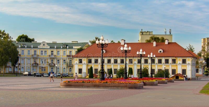 副管理员的宫殿在哥罗德诺的中心 库存图片