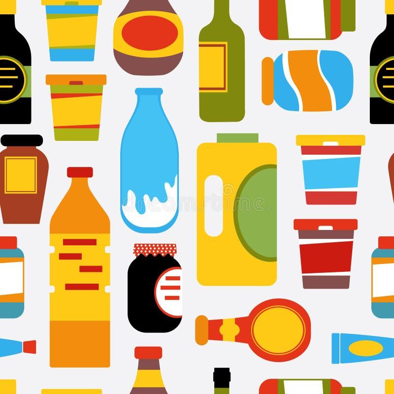 副食品模式 皇族释放例证