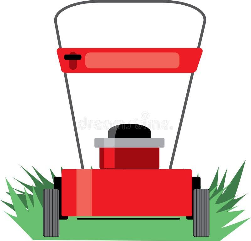 割草机 向量例证