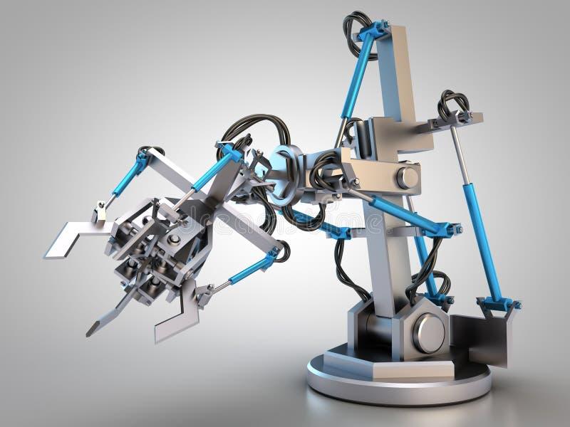 水力产业机器人 库存例证