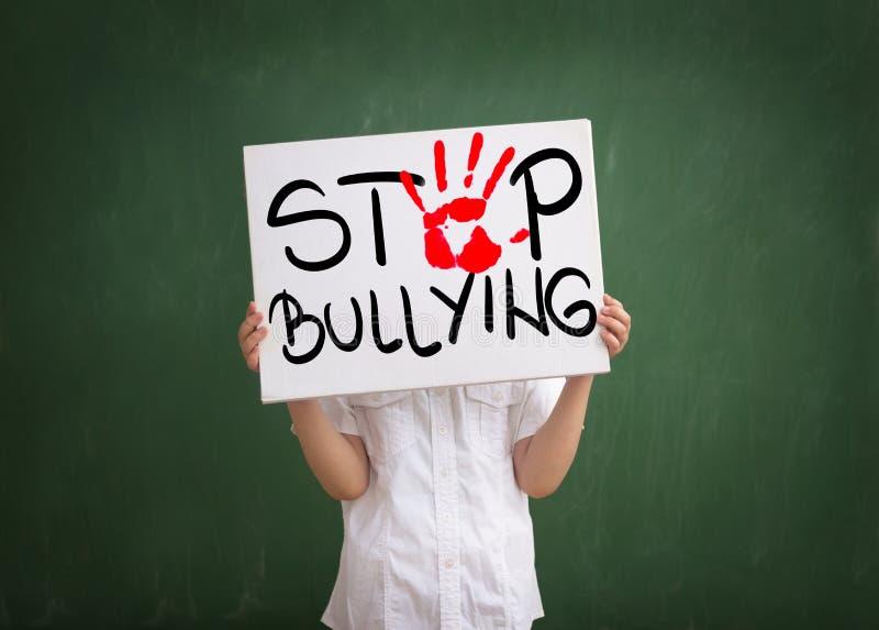 暴力在今天学校 库存图片