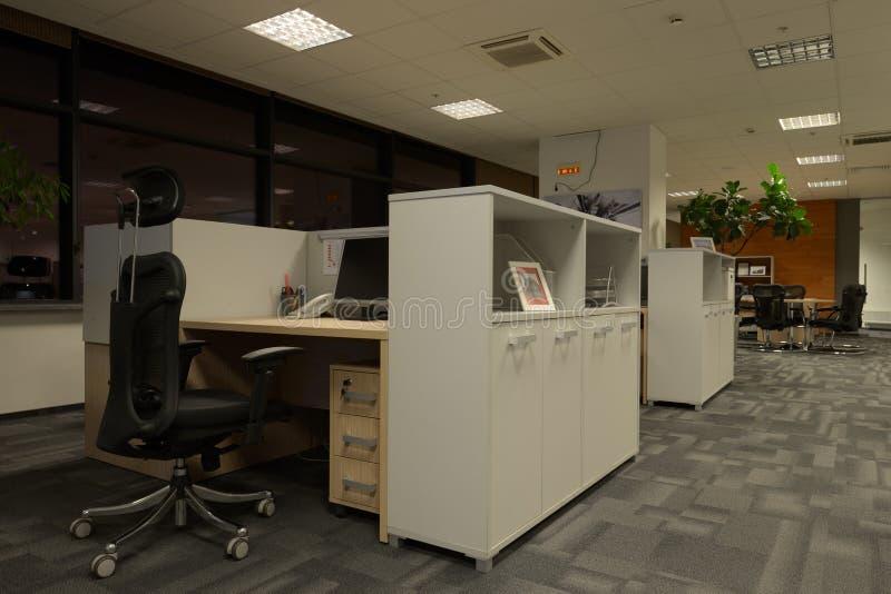 办公室内部 免版税图库摄影