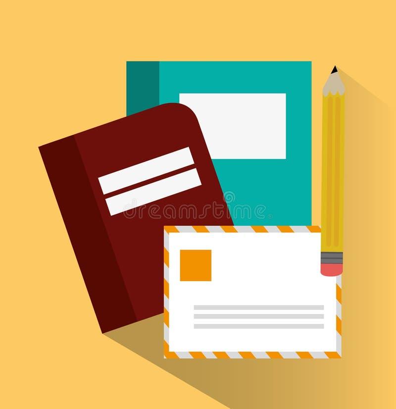 办公室和业务设计书  皇族释放例证