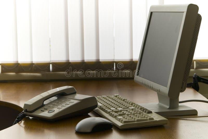 办公室安排工作 免版税图库摄影