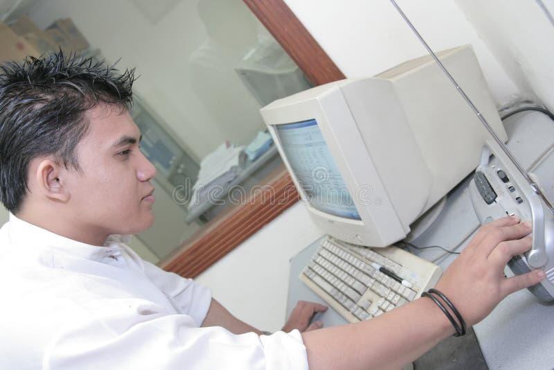 办公室工作人员 免版税库存图片