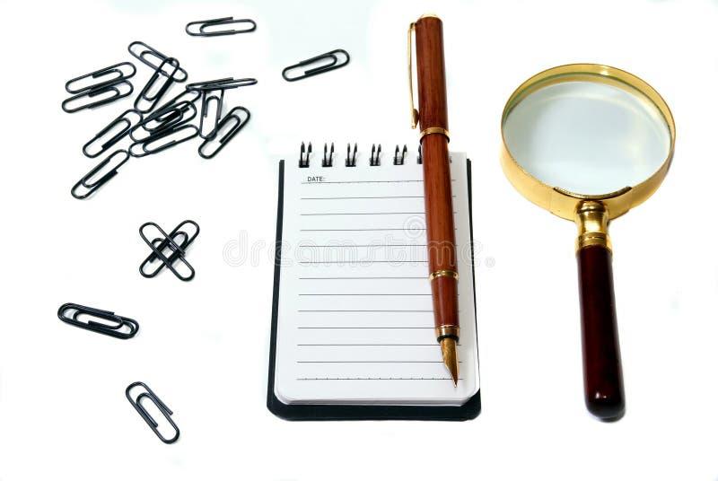办公室工具 免版税库存图片