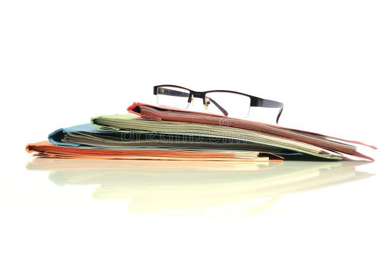 办公室文书工作 免版税图库摄影