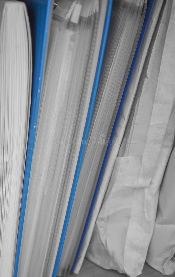 办公室文件 免版税库存图片