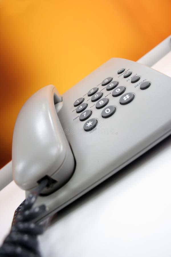 办公室电话 免版税库存照片