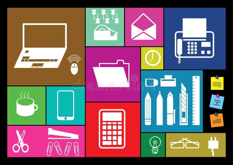 办公室的工具 免版税图库摄影