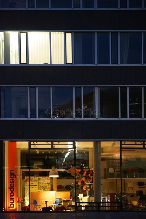 办公室设计的商店 库存图片