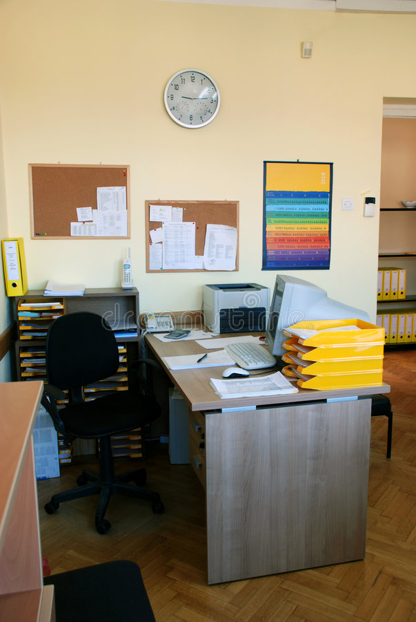 办公室 图库摄影