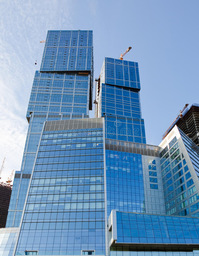 办公室skyscrapper 免版税库存图片