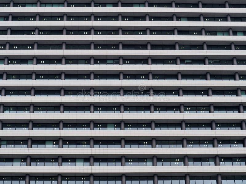 办公楼在大阪 免版税库存照片