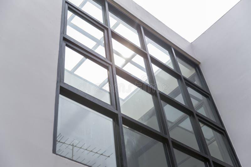办公楼大厅或医院 玻璃窗 现代的interio 库存图片