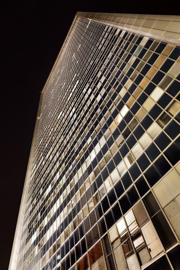 低角度摩天大楼 库存照片