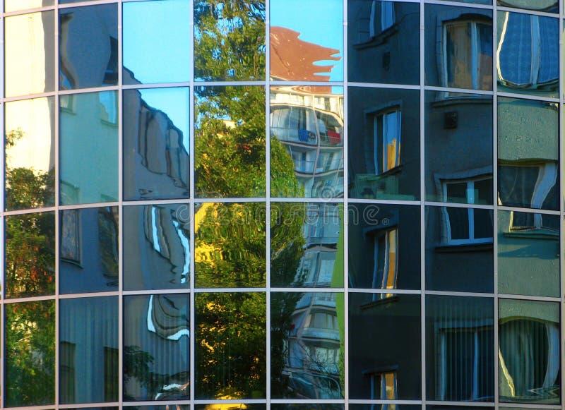 办公楼在布拉格 免版税图库摄影