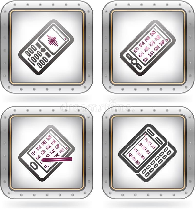 Download 办公用品 向量例证. 插画 包括有 电话, 通信装置, 投反对票, 空白, 用品, 办公室, 片剂, 移动 - 22351065