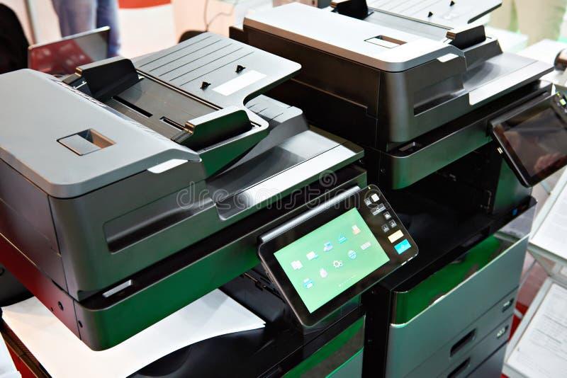 办公用打印机和影印机 图库摄影