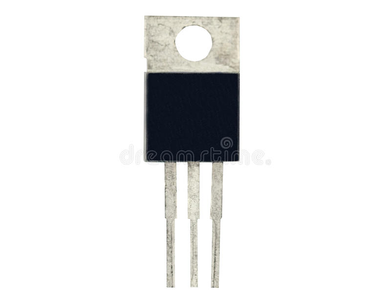 功率晶体管 库存图片