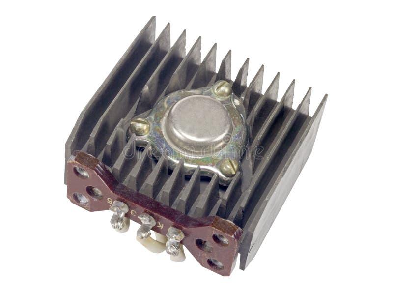 功率晶体管 免版税库存照片