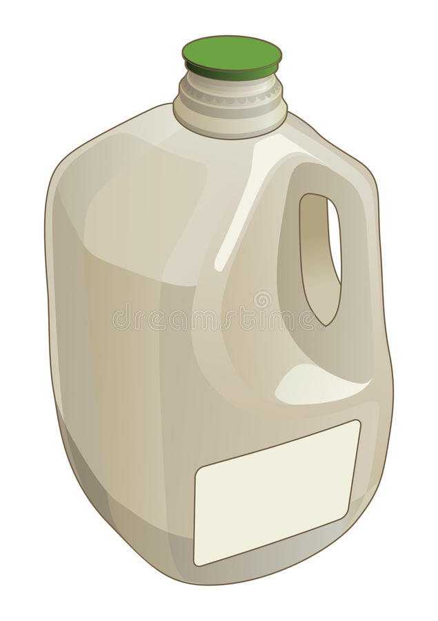 加仑水罐 向量例证
