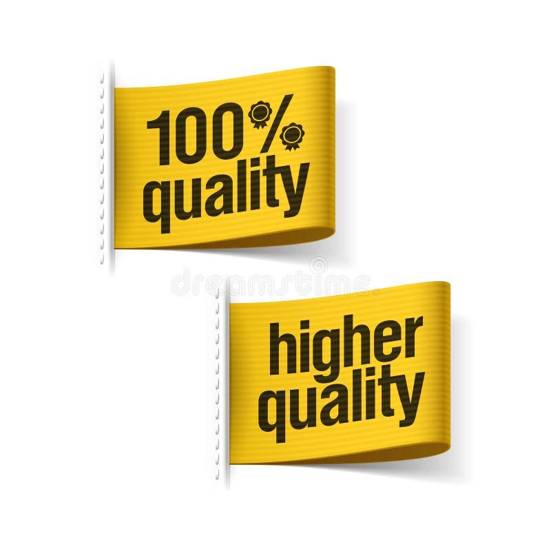 100%更加优质的产品 皇族释放例证