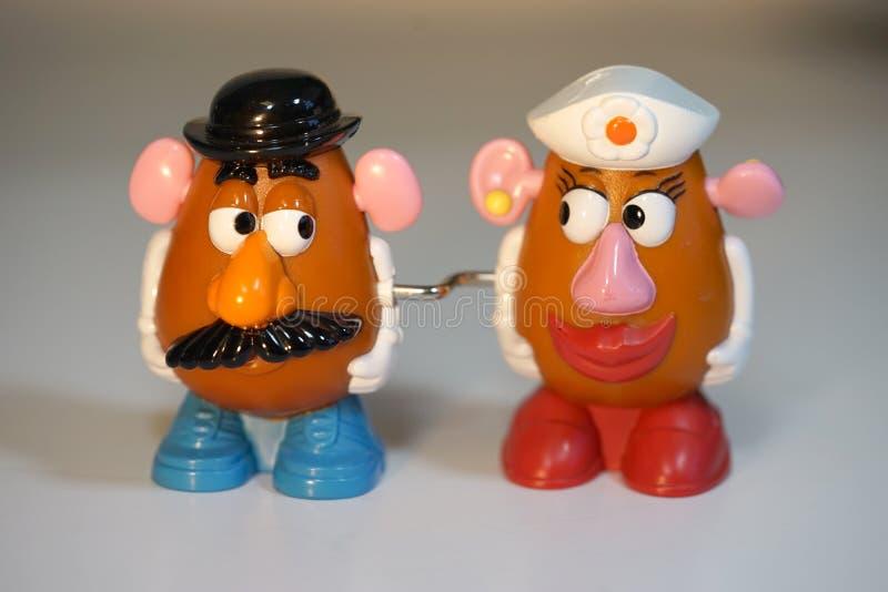 加入在臀部-土豆头 免版税库存照片
