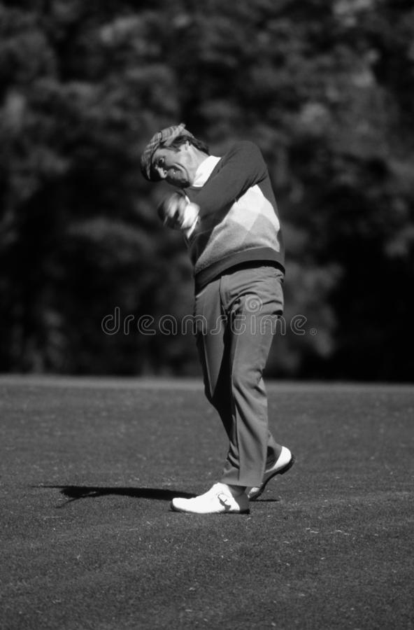 加利球员职业高尔夫球运动员 库存照片