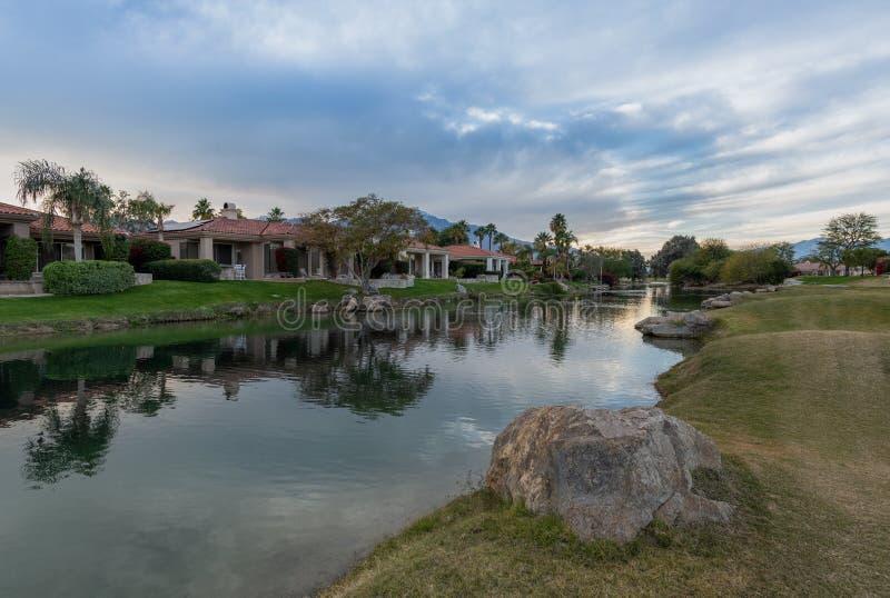 加利球员高尔夫球场,Rancho Mirage,加州 库存图片