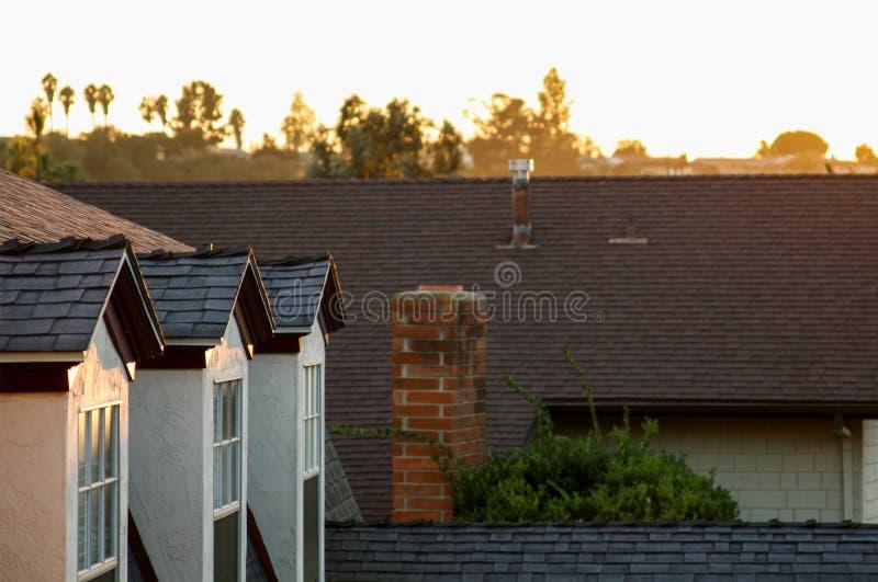 加利福尼亚南部的日落 免版税图库摄影