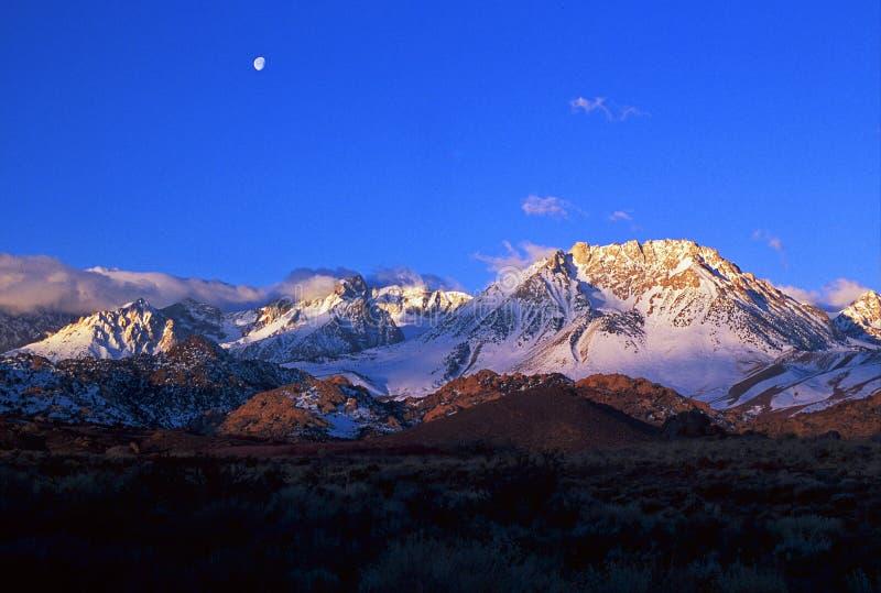 加利福尼亚山内华达s山脉 免版税库存图片