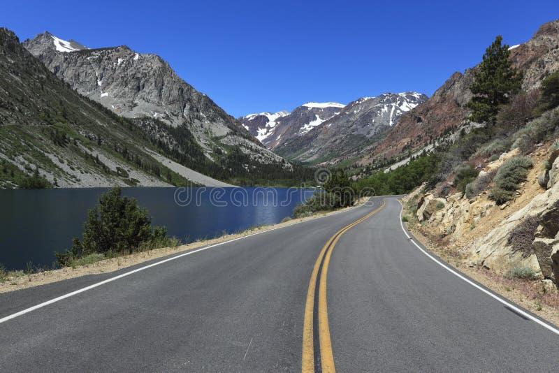 加利福尼亚山路 库存照片