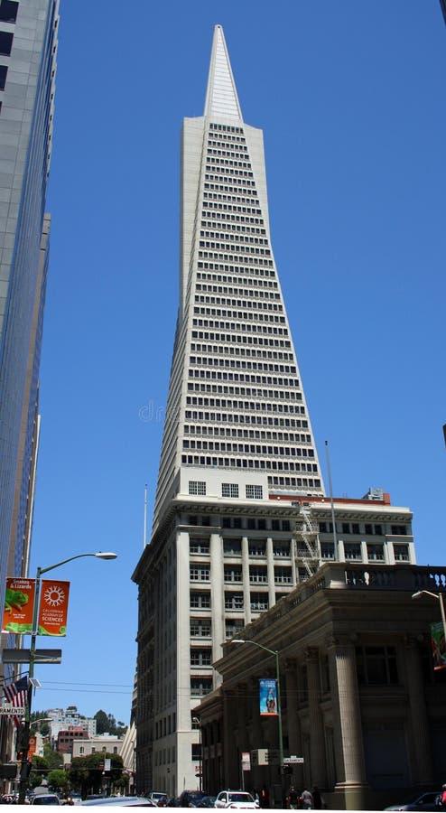加利福尼亚弗朗西斯科金字塔圣transamerica 免版税图库摄影