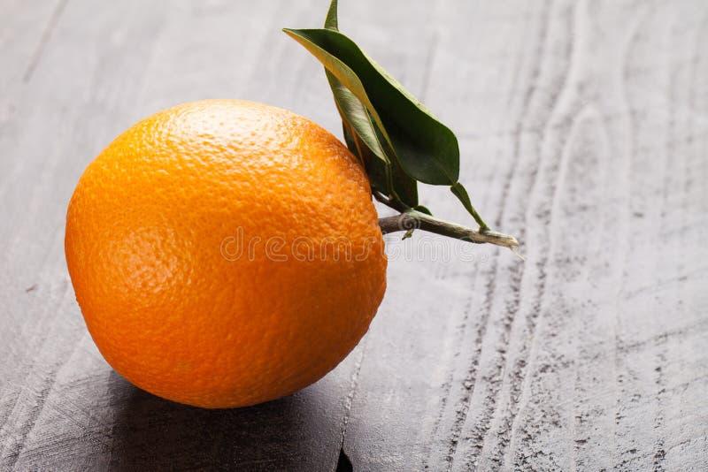 加利福尼亚有机桔子 免版税库存图片