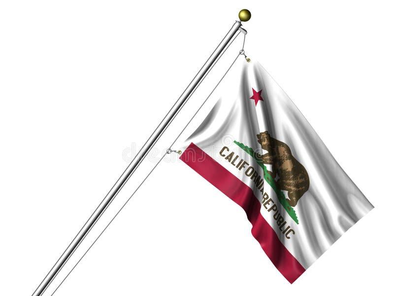 加利福尼亚标志查出 向量例证