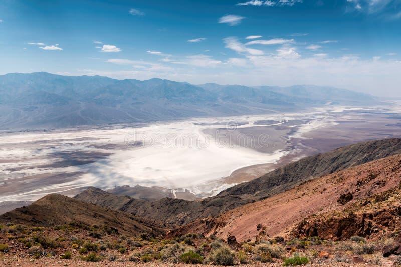 加利福尼亚死亡国家公园谷 图库摄影
