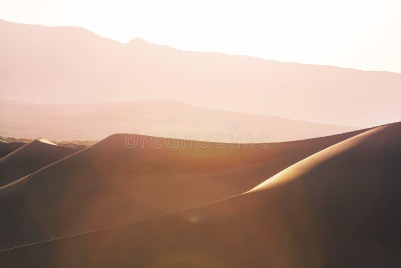 加利福尼亚沙丘沙子 库存照片